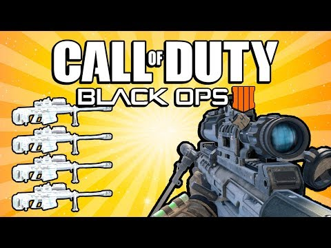 Quad Feed with Every Gun! (Call of Duty: Black Ops 4)