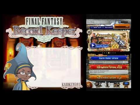 Final Fantasy Record Keeper ¦FFRK¦  Yuffie Banner Relic Draw