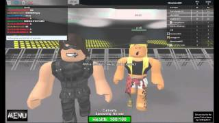 Roblox: WWE 2K16 Trying to bang a random girl (READ DESC)
