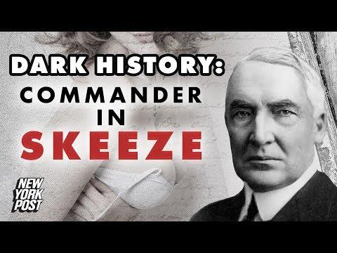 How President Warren Harding's Extramarital Affairs Changed History | Dark History | New York Post