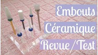 Revue/démo des Embouts en Céramique pour Ponceuse électrique - Ongles | Melissa Easy Nails