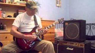 blues guitar-cort M600 part1