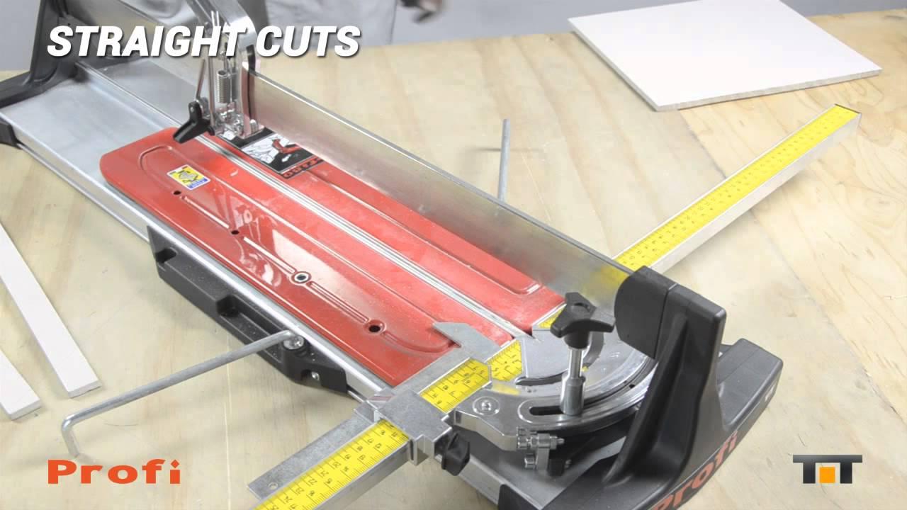 profi 60 manual tile cutter