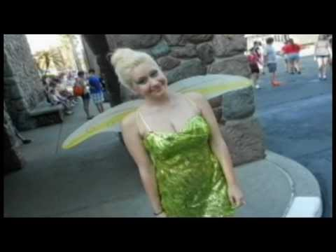 Tinkerbell in tears after Disney World spat - Disney costume sparks tears