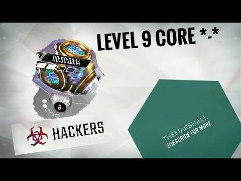 Level 9 core - Hackers join the cyberwar !