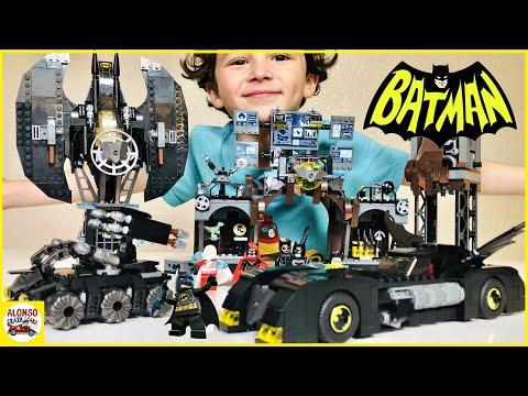 Lego DC Batman Batcave Batwing And Batmobile Superhero Toys