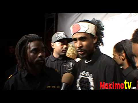 STONE MECCA Interview at AFRO SAMURAI Launch Party Arrivals