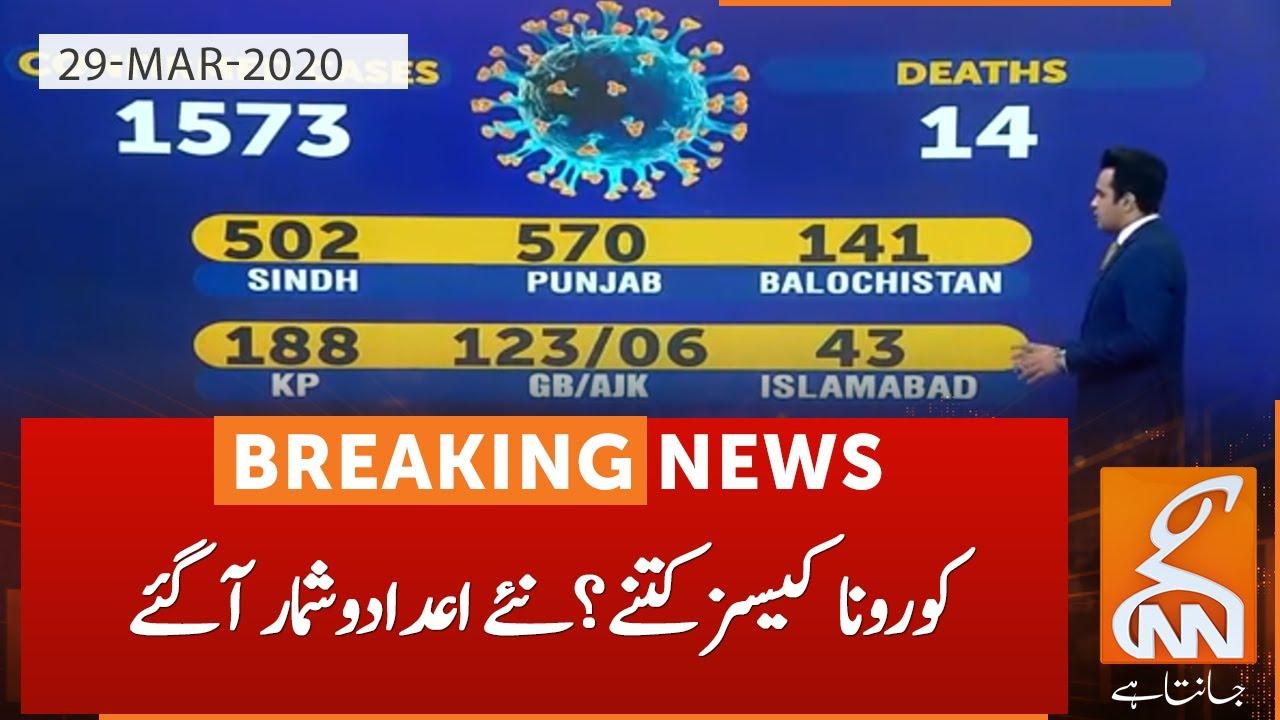 Latest coronavirus updates in Pakistan | GNN | 29 March 2020