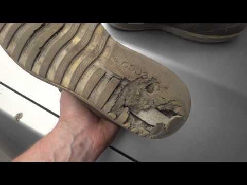 Ботинки ЭККО развалились...((((