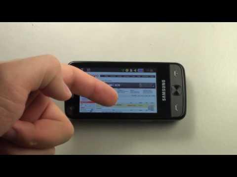 Samsung M8910 PIXON12 - Internet _ Google Maps_HD.avi