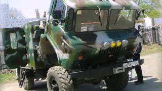 Тюнинг грузовика ГАЗ 66