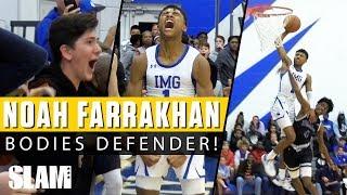 Noah Farrakhan BODIES DEFENDER! 😱 IMG Academy is the High School Monstars! 😈