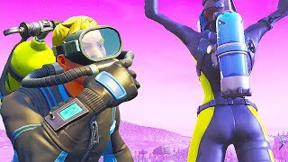 NEW Fortnite REEF RANGER Skin - LASER CHOMP Glider Gameplay (fr) chaos