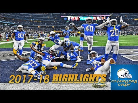 Los Angeles Chargers 2017-18 Season Highlights (HD)