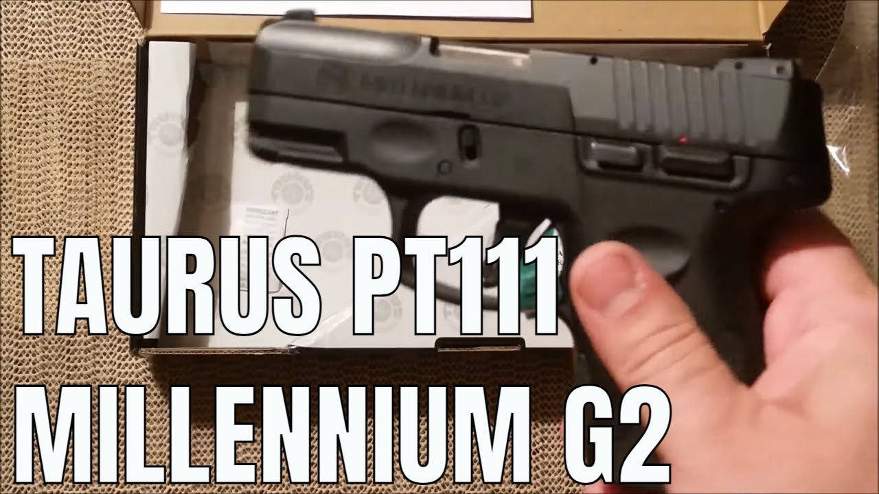 taurus pt111 millennium g2