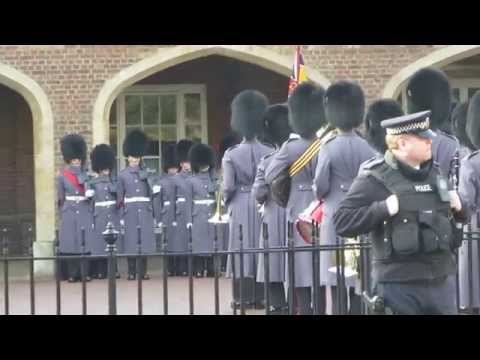 Changing of the Guards at St James's Palace