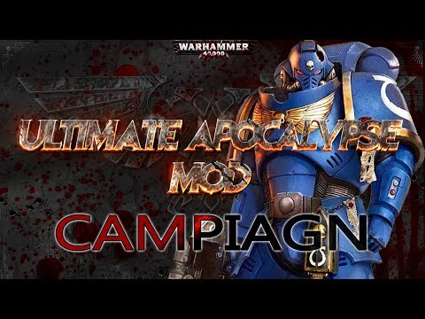 For The Emperor! - [1]Dawn Of War - UA Mod Campaign (Space Marines)