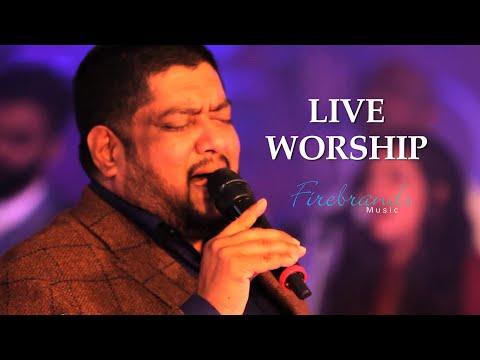 FIREBRANDS MUSIC - Rev. Dr. Ernest V. George - LIVE Worship - Music Rearranged by Lawrence Guna