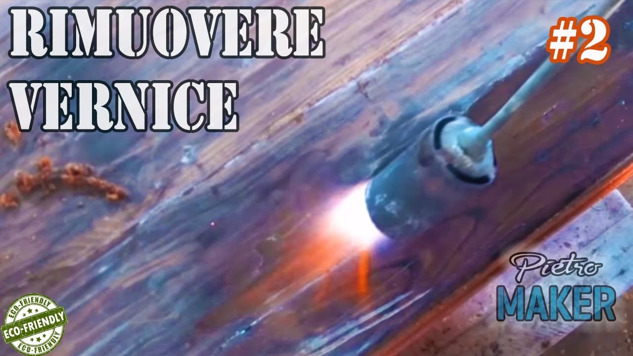 Rimuovere Pittura A Tempera Diy How Remove Old Paint From Wood Using Fire 2