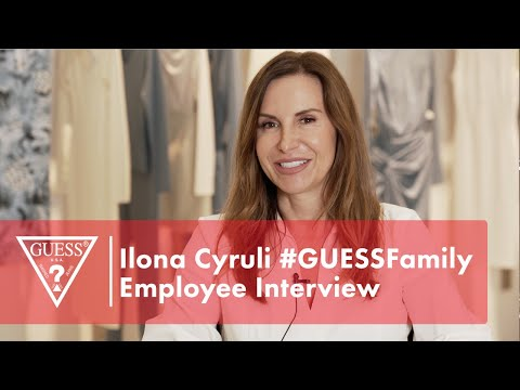 Ilona Cyruli #GUESSFamily Employee Interview<br><b...