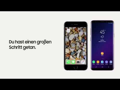 daten von iphone auf samsung galaxy s9 übertragen