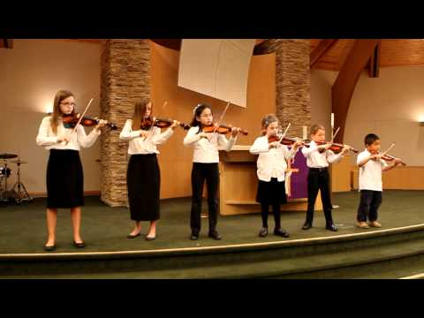 Violin Twinkle Award Twinkle, Twinkle Little Star with variations -- March 13, 2011
