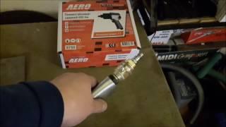 недорогой ударный гайковерт для гаража AERO (FUBAG) 600Нм. Обзор