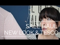 Clothing Sale Haul | Tesco & New Look | Womens, Girl & Baby Girl Clothes Haul