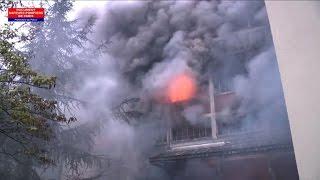 Paris: important incendie rue de Charonne