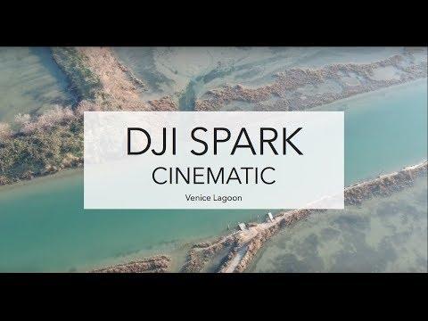 DJI Spark Cinematic - Venice Lagoon