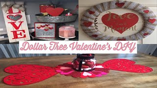 Dollar Tree DIY|Valentine's Day 2019