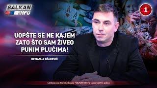 INTERVJU: Nemanja Džaković - Uopšte se ne kajem zato što sam živeo punim plućima! (29.1.2019)