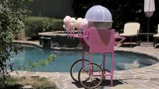 Ccm600 | Nostalgia Electrics Old Fashioned Carnival Cotton Candy Cart