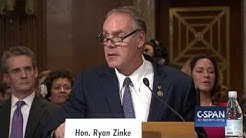 Secretary of Interior Nominee Rep. Ryan Zinke Opening Statement (C-SPAN)