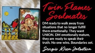 🔥TWIN FLAME DAILY READING🔥Lessons Learned: DM walking away, becoming emotionally mature.