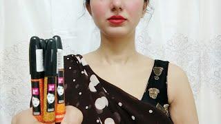 Elle 18 Go Matte Lip Crayon Close Lip & Hand Swatches, Review