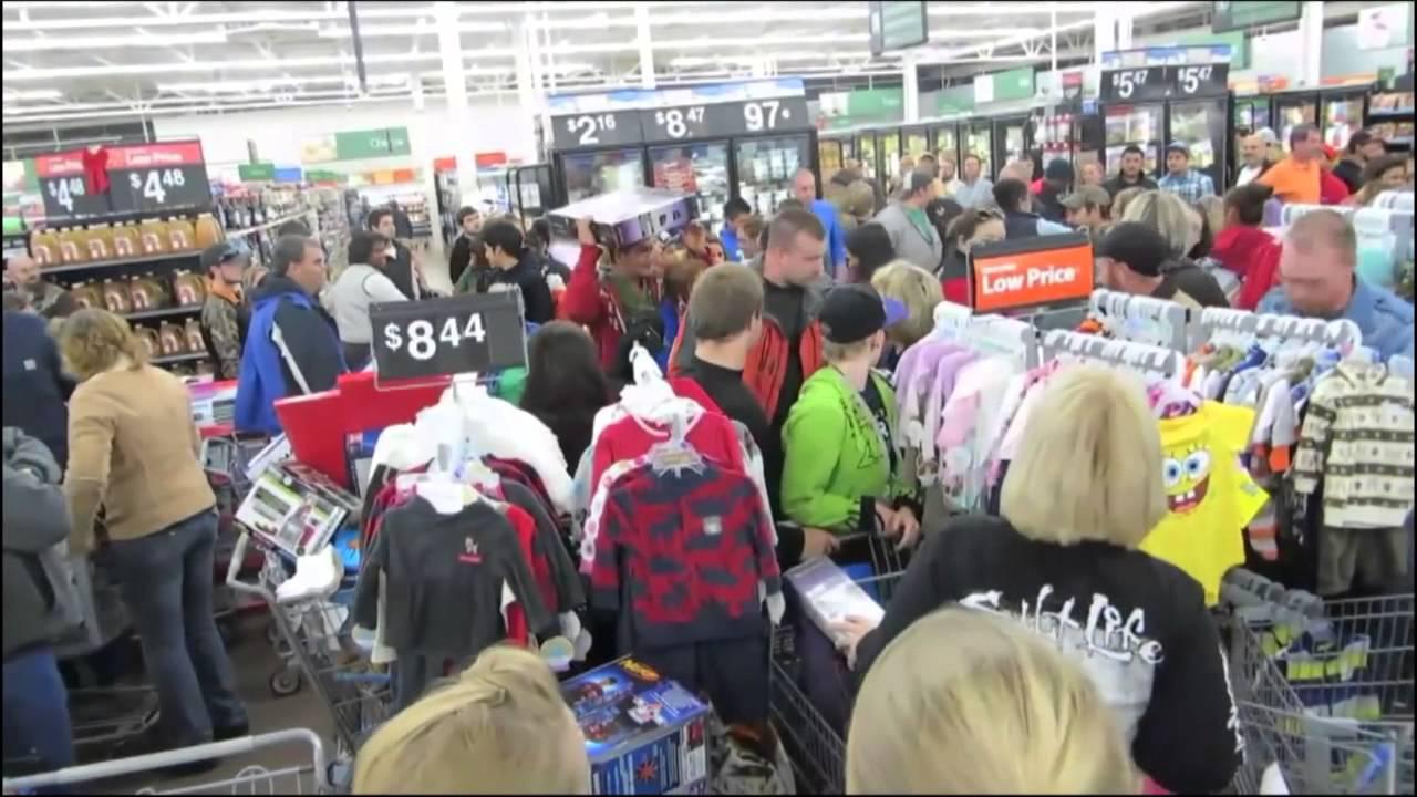 Black Friday Total Disaster, Chaos at Walmart