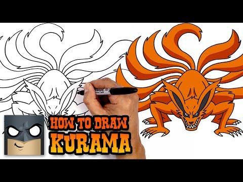 How to Draw Kurama | Naruto (Art Tutorial)