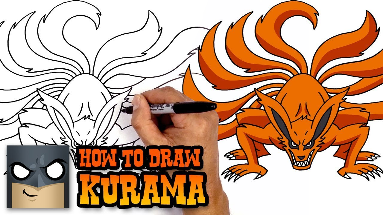 How to Draw Kurama | Naruto (Art Tutorial)