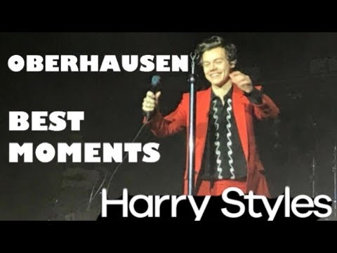HARRY STYLES HIGHLIGHTS FROM THE OBERHAUSEN SHOW 2018