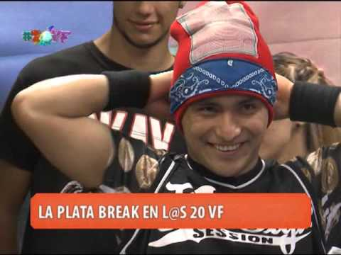 L@S 20VF - LA PLATA BREAK: BAILA WALLY