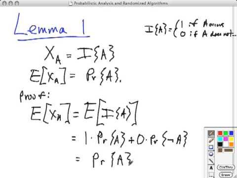 Topic 05 A Indicator Random Variables