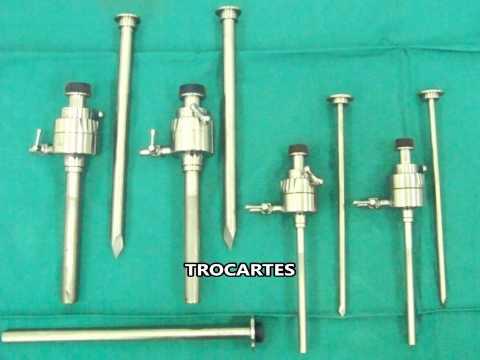 Curso de Capacitação em  Cirurgia Video laparoscopica Manejo e Instrumentação