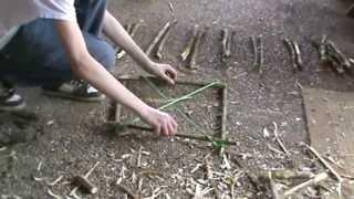 Конструкции простых ловушек на дичь Силки из подручных материалов Бушкрафт