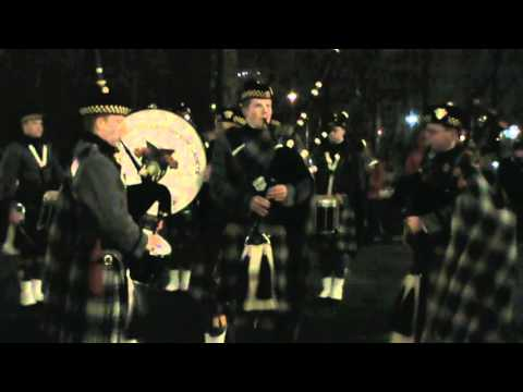 Army-Navy Pipes & Drums: Battle of the Bands 2013