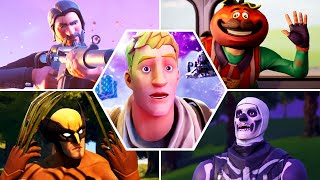 All Fortnite Trailers, Shorts & Cutscenes Movie (Season 1 - 14)