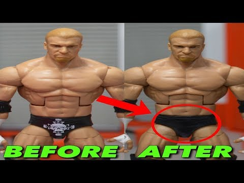 HOW TO REMOVE LOGOS & TATTOOS FROM YOUR WWE FIGURES!
