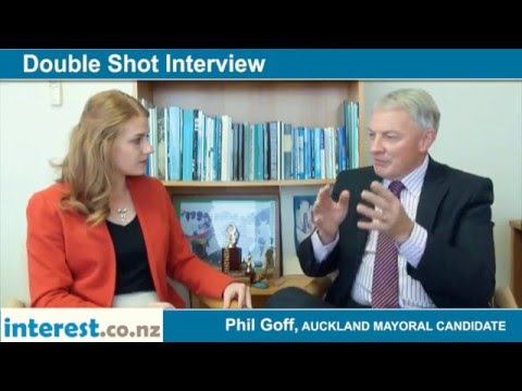 Double Shot Interview with Phil Goff, Auckland Mayoral Candidate - December 2015