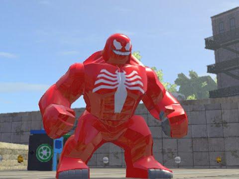 LEGO Marvel Superheroes - RED VENOM FREE ROAM GAMEPLAY - YouTube