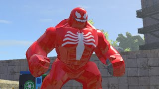 LEGO Marvel Superheroes - RED VENOM FREE ROAM GAMEPLAY